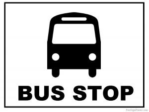 5 printable-bus-stop-sign